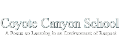 Coyote Canyon Elementary School  Logo